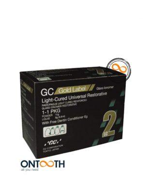 GC - Glass Ionomer light cure