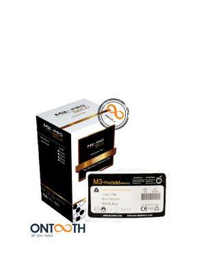 m3-pro-gold-rotary-file فایل روتاری آنتوس دندانپزشکی Ontooth dental
